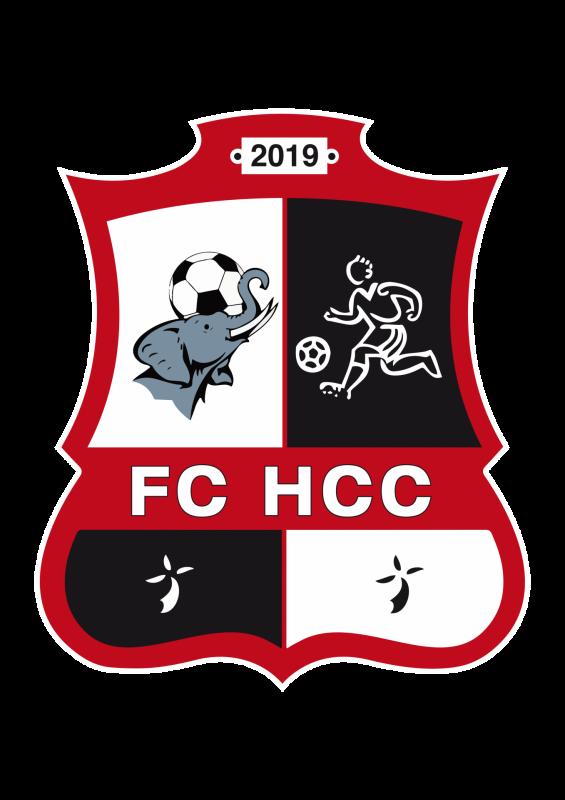 Logo fc hcc officiel contour blanc